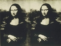 mona lisa by andy warhol