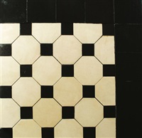 original flooring of the showroom of the wiener werkstätte by josef hoffmann