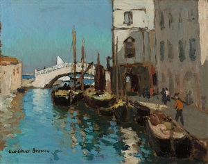 chioggia by george elmer browne