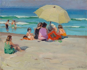 a colorful group by mabel may woodward