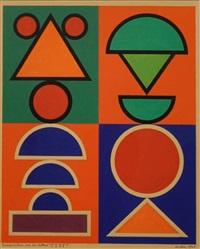 """composition sur les lettres """"f.t.p.f"""" by auguste herbin"""