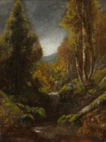 the trout stream by ralph albert blakelock