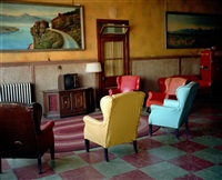 lounge painting # 2, gila bend, arizona by wim wenders