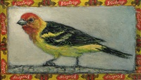 western tanager / victory by ed musante