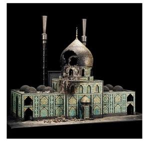 bombed mosque by al farrow