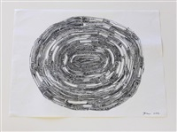 annual rings 2 by jean shin