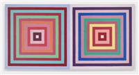 double concentric squares by frank stella