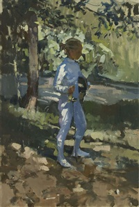 the young fencer by paul rafferty