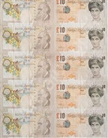 di-faced tenners by banksy