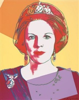 beatrix reigning queen by andy warhol