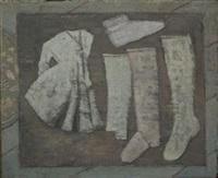 child's dress and socks by e.m. saniga