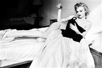 eva herzigova - smoking in bed by ellen von unwerth