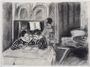 henriette and her brothers by henri matisse
