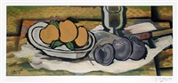 nature morte aux fruits by georges braque