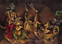 sabbath phantoms (mythomania) by kurt seligmann
