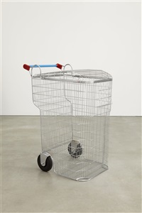 trash-shopping cart by los carpinteros