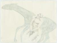 horse & man by elisabeth frink