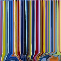 colourcade: blue, pink by ian davenport