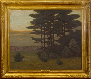 group of pines, bloomfield, nj by charles warren eaton