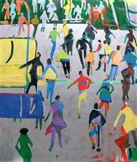 crowd on silver by david kapp