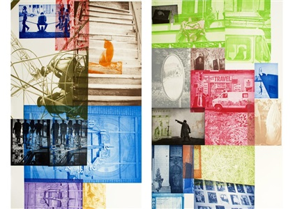 master prints of the 70s - 90s by robert rauschenberg
