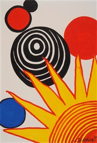 quarter sunrise by alexander calder