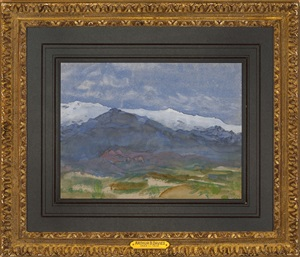 mountain landscape by arthur davis