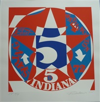 decade autoportrait '61 by robert indiana