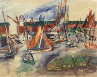 l'lle d'yeu by jean dufy