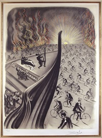 symphony bicyclette by salvador dalí