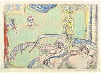 the seven deadly sins by james ensor
