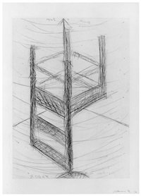 suspended chair by bruce nauman