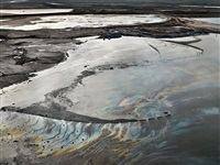 alberta oil sands #14, fort mcmurray, alberta, canada by edward burtynsky