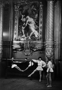 the palais garnier opera house, paris by henri cartier-bresson