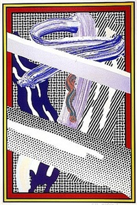 reflections on expressionist painting by roy lichtenstein