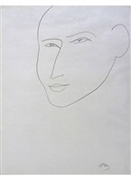 portrait of martin fabiani by henri matisse