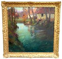 normandie riverscap by george ames aldrich