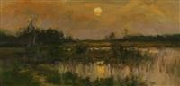 moonrise by dennis sheehan