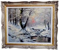 the winter steam by laszlo neogrady