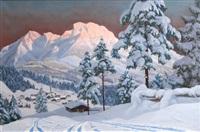 tyrolean glow by alois arnegger