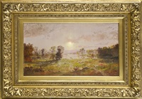 on the susquehanna, autumn by jasper francis cropsey