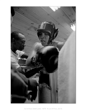 the ali portraits - ali's rub by jan w. faul