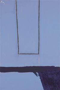 open, #75 by robert motherwell