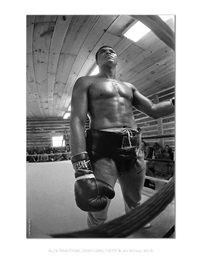the ali portraits - ali ring pose by jan w. faul