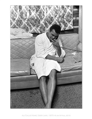 the ali portraits - ali on sofa by jan w. faul