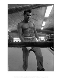 the ali portraits - ali stands by jan w. faul