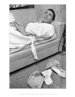 the ali portraits - ali shoes by jan w. faul