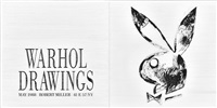 warhol drawings, 1988 by simon linke
