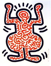 ludo 1 by keith haring