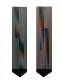 estela cromointerferente, serie tres by carlos cruz-diez